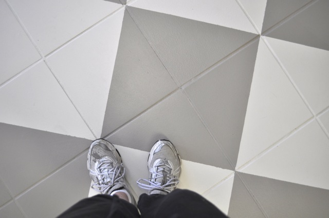 DIY Inspiration: Painting Tile Floors | This American House