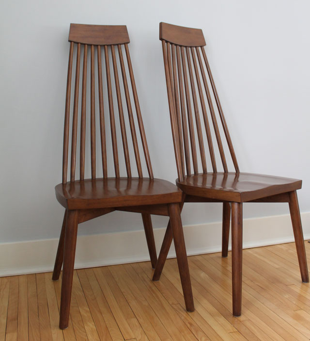 west elm spoke chairs