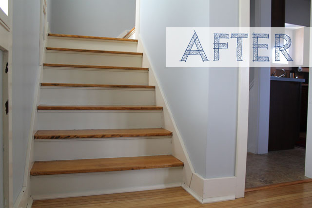 Attrayant White Stair Risers