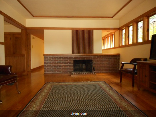 Milwaukee American System Built Home by Frank Lloyd Wright