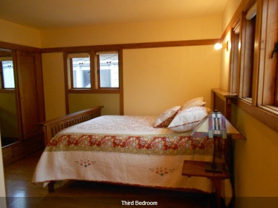 Bedroom of American System Built Home in Milwaukee