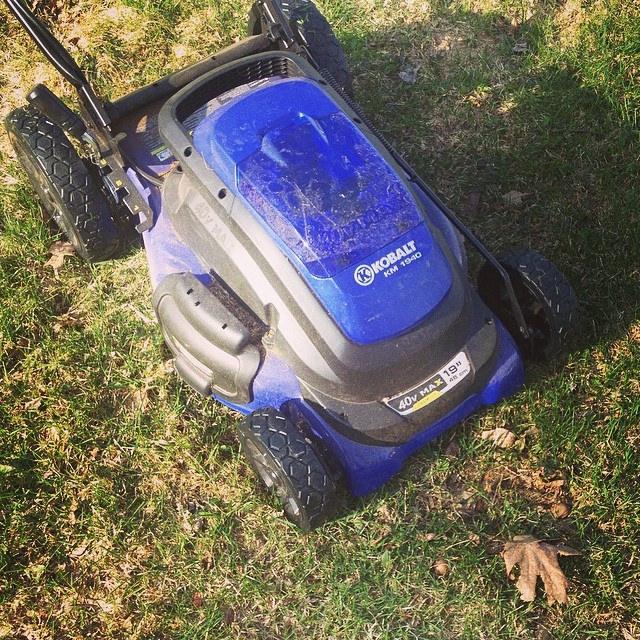 Kobalt 40v Cordless Rechargeable Lawn Mower