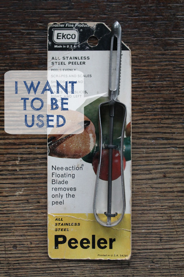 vintage Ekco vegetable peeler
