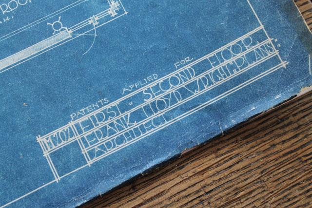 American System-Built Home blue print