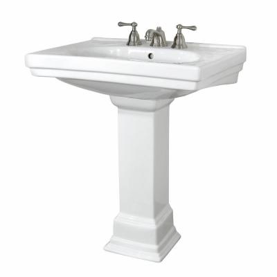 Foremost Structure Lavatory and Pedestal Combo from Home Depot
