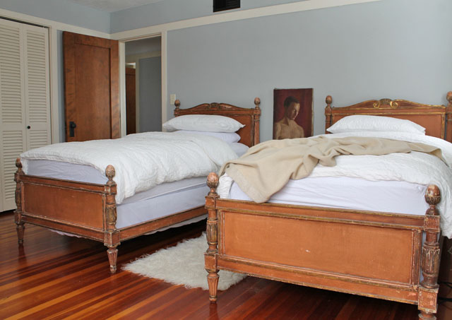 The master bedroom in Mr. and Mr. Blandings' house.