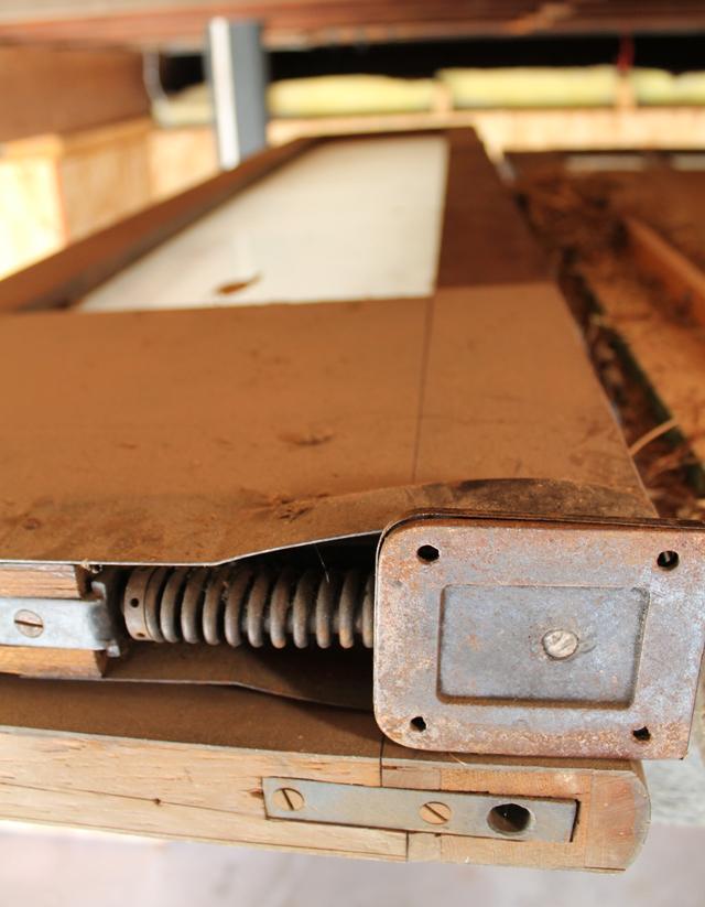Door hardware spring