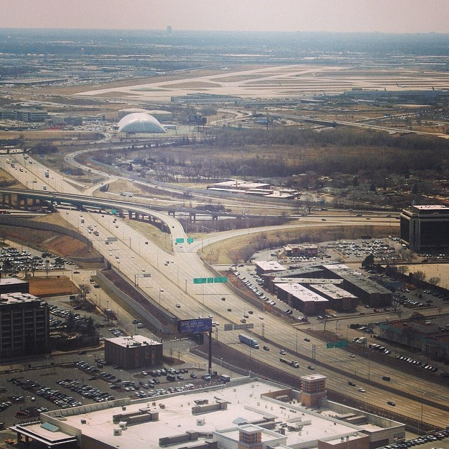 Landing at Chicago's Ohare Airport
