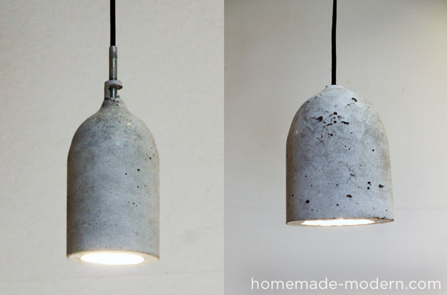 DIY Concrete Pendant